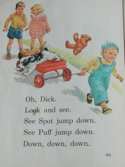 Dick jane spot are